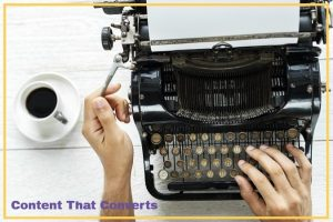 Writing content for a website