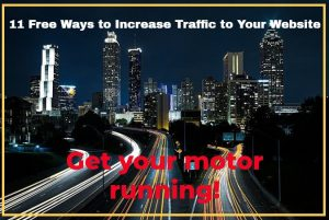 11 ways to increase traffic to a website